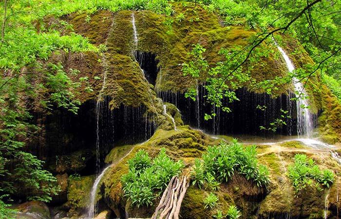 Umbrella waterfalls Armenia