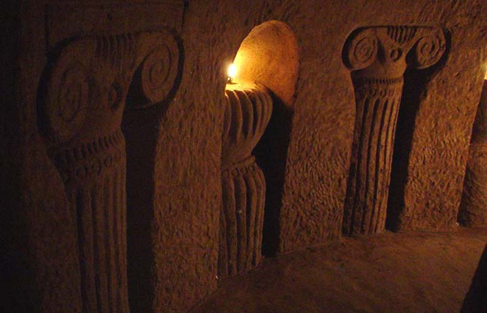 Levon underground cave Armenia