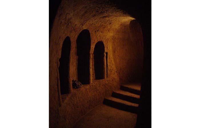 One part of Levon underground caves