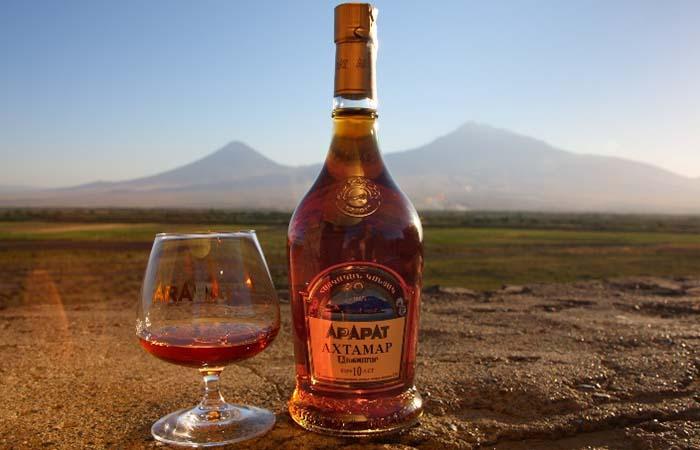 Ararat cognac Armenia