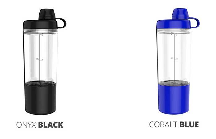 FuelshakerPro in Onyx Black and Cobalt Blue