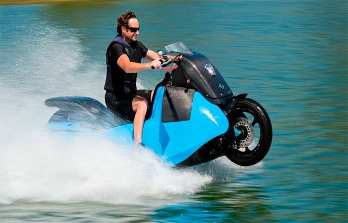 Riding Gibbs Biski On The Water