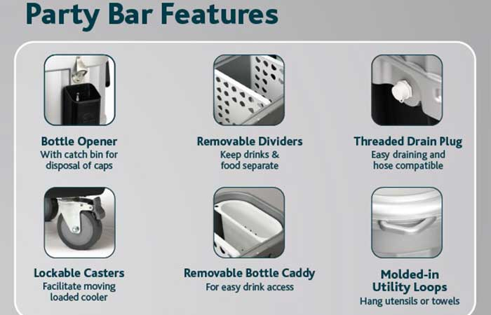 Party Bar features