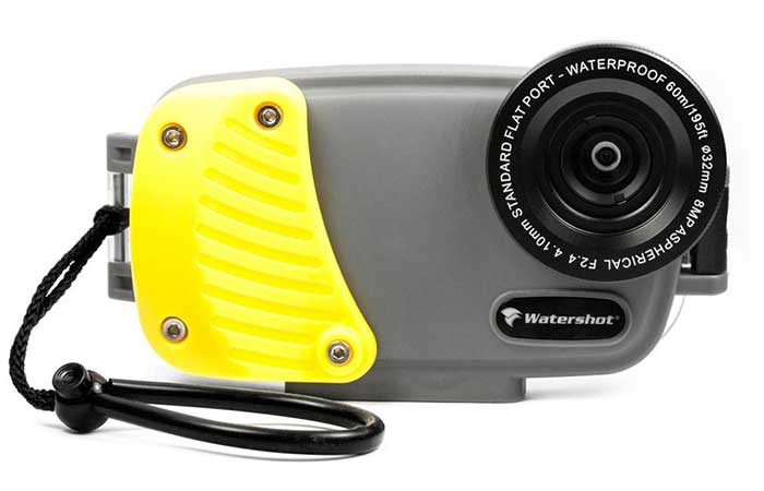 The gray-yellow The iPhone Underwater Waterproof Housing/Case
