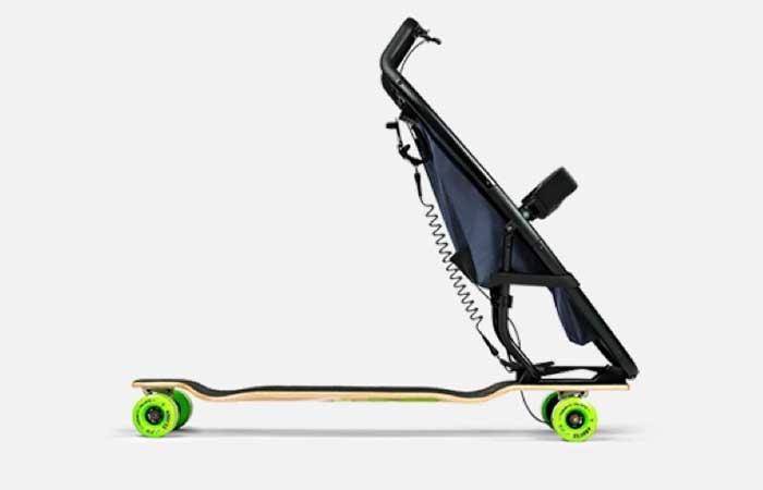 longboardstroller by quinny