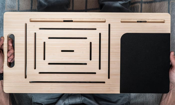 Table for laptop and smartphone