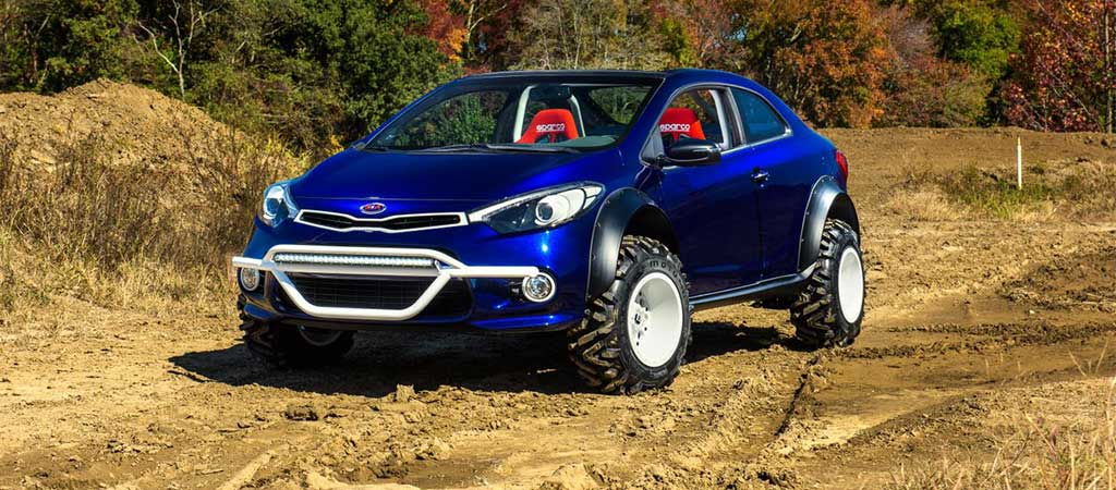 NEW MUD BOGGER BY KIA
