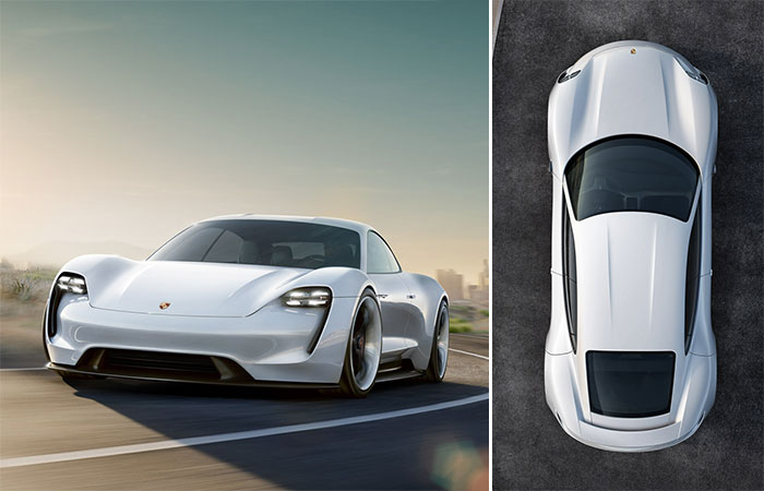 Image result for porsche electric mission e