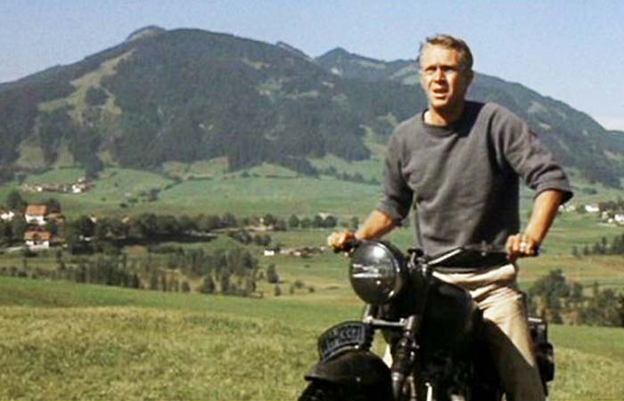The Great Escape Motorcycle Scene