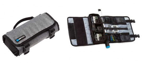 TREKCASE WEATHER RESISTANT ROLL-UP CASE FOR GOPRO CAMERAS | BY GOPOLE
