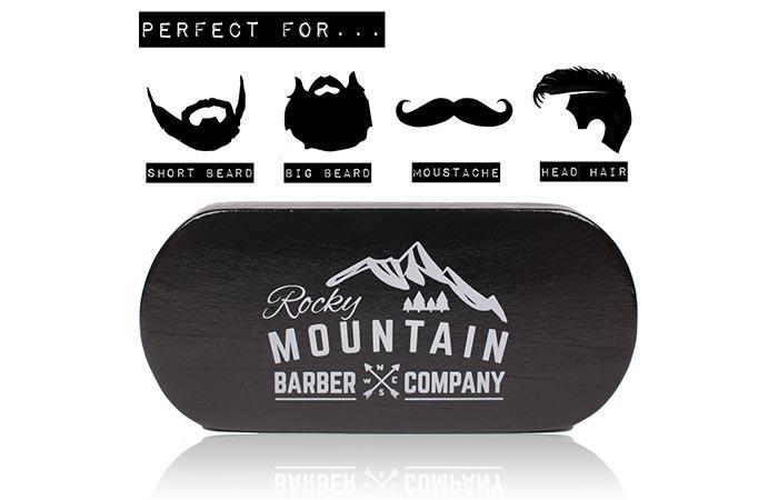 100 Boar Bristle Beard Brush logo
