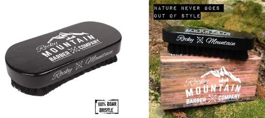 100% Boar Bristle Beard Brush | By Rocky Mountain Barber Company