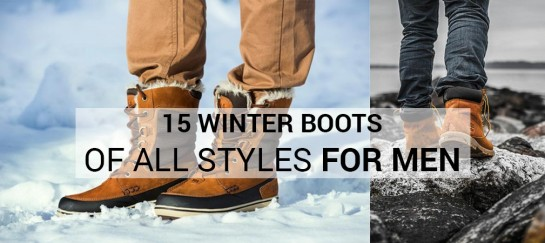 We Found The 15 Best Winter Boots For Men Out There