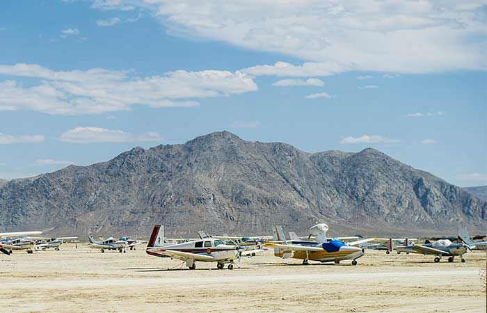 The Black Rock City Airport
