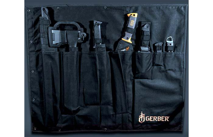 Gerber Survival Kit In Black Rollable Case
