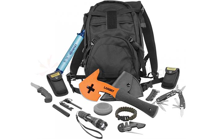 TASK Survival Kit And The Backpack