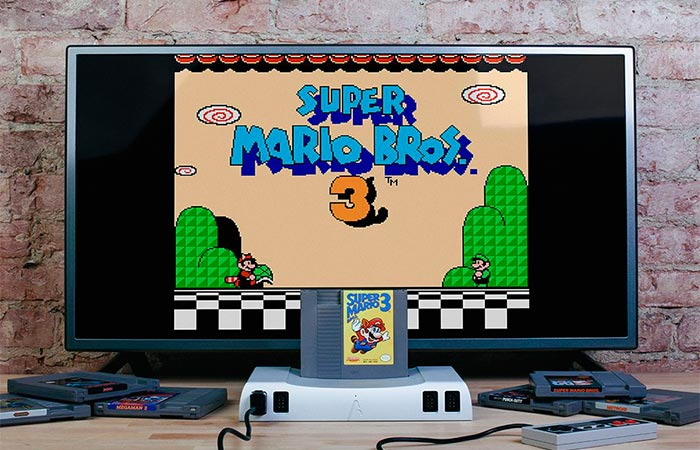 Analogue Nt and Super Mario Bros 3 Game