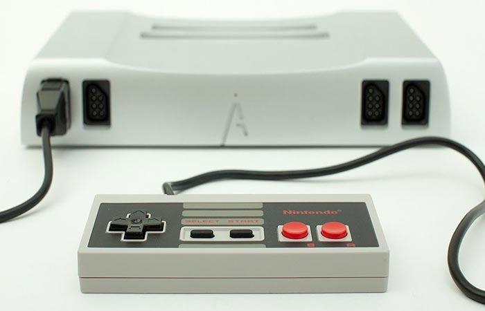 Analogue Nt Gaming Console White