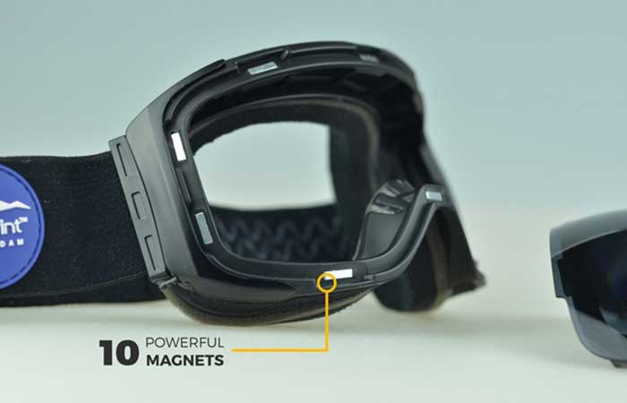 BSG2 Magnetic Lens Snowboard Goggles magnets