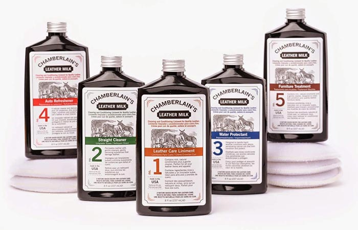 All Chamberlain's Leather Care Products