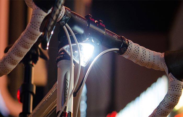 The Lights On A Bike