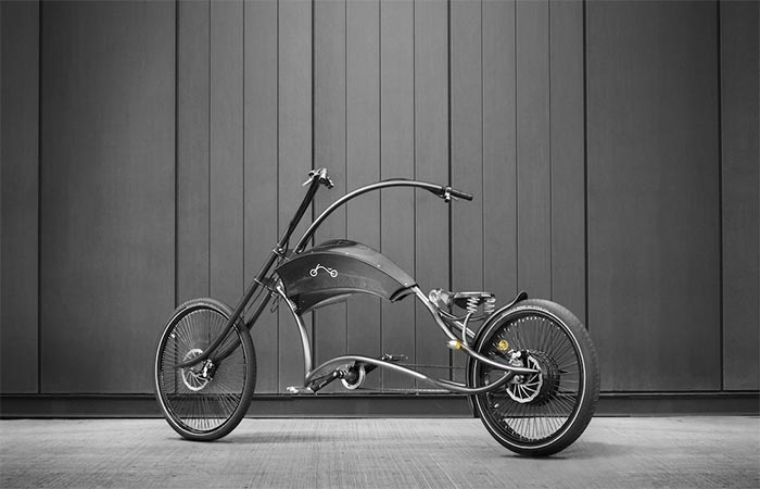 Ono Archont Elektro Bicycle From The Side