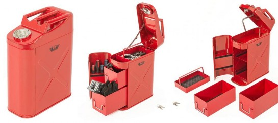 Rampage Trail Can and Utility Tool Box | Every Off-Roaders Dream