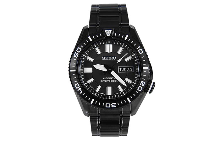 The front of Seiko SKZ329 Automatic Diver's Watch