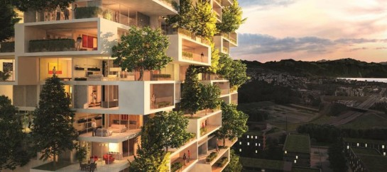 Vertical Forest Building Planned For Switzerland   By Stefano Boeri
