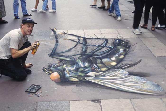 Julian Beever street art