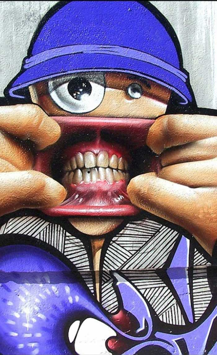 Street art from Jaen, Spain