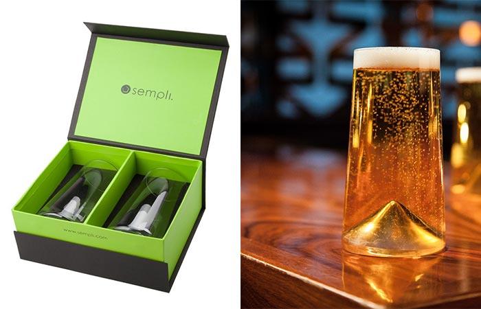 Monti-Birra Beer Glasses