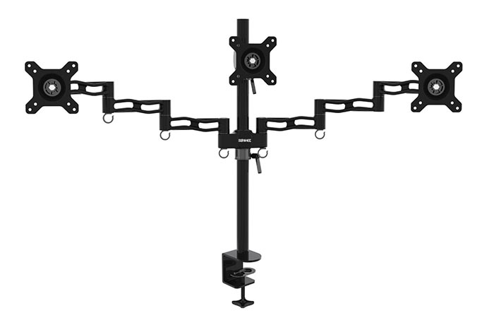 Duronic DM353 Triple Three LCD/LED Desk Mount