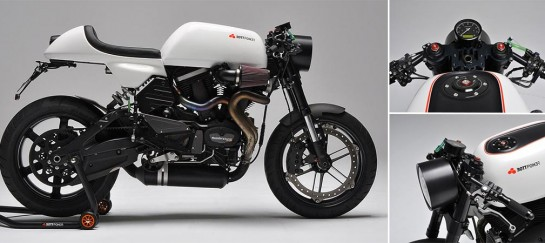 Bottpower XC1 | A Buell Cafe Racer On Steroids