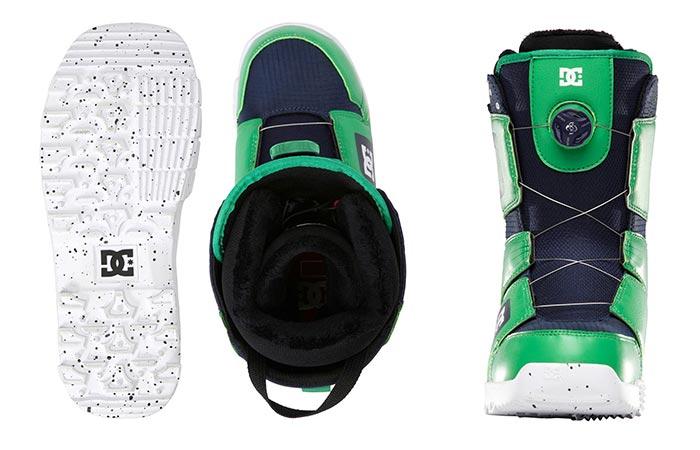 Green DC Men's Scout Snow Boot