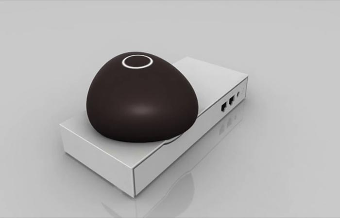 Dojo Smart Home Network Security System Glowing Orb