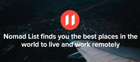 NomadList.com | Innovative Tool for Digital Nomads