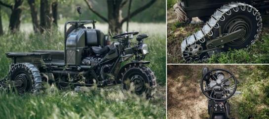 Moto Guzzi 3-Wheel Motorcycle
