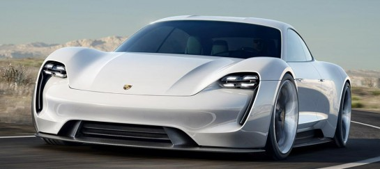 NEW! Porsche Mission E Super Electric Car Going Into Production