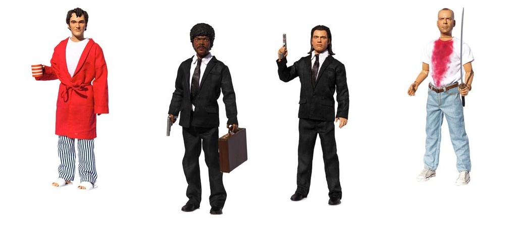 Pulp Fiction Explicit Talking Figures