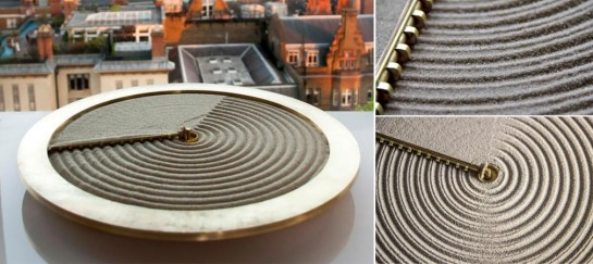 Ripples Of Time Sand Clock | By Studio Ayaskan