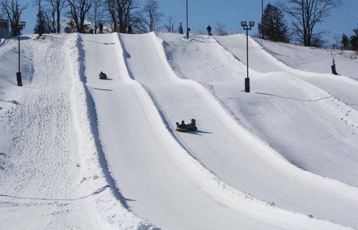 Boler Mountain ski resort, Canada