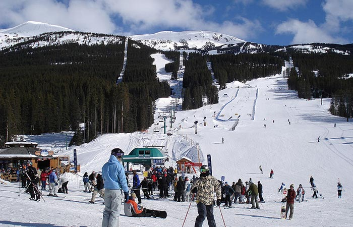 Lake Louise ski resort, Canada