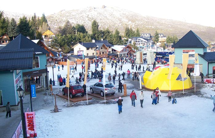 Cerro Catedral ski resort, Argentina.