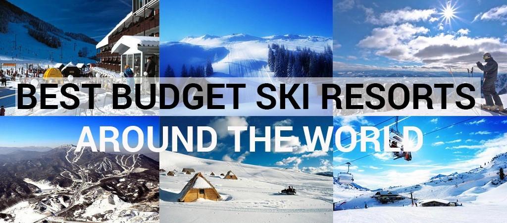 Best Budget Ski Resorts Around The World