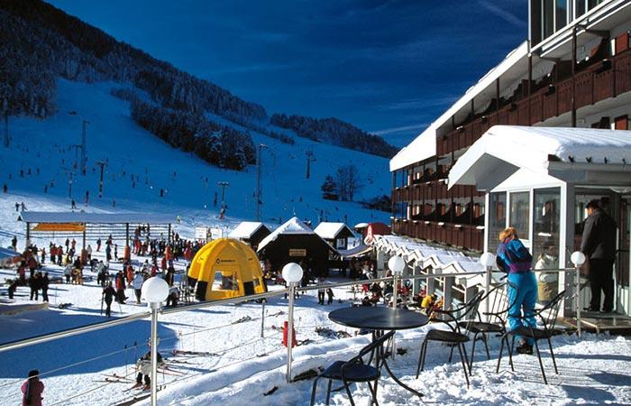 Kranjska Gora ski resort, Slovenia.