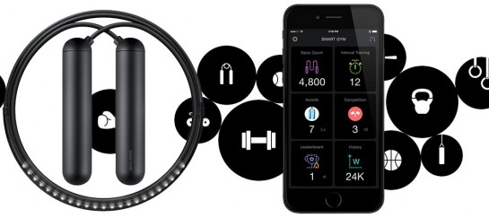 Smart Rope | Skipping Rope with Integrated LED Lights and Accompanying App