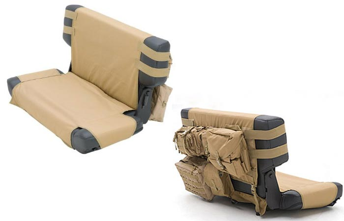 Smittybilt Tactical G.E.A.R. Rear Seat Covers