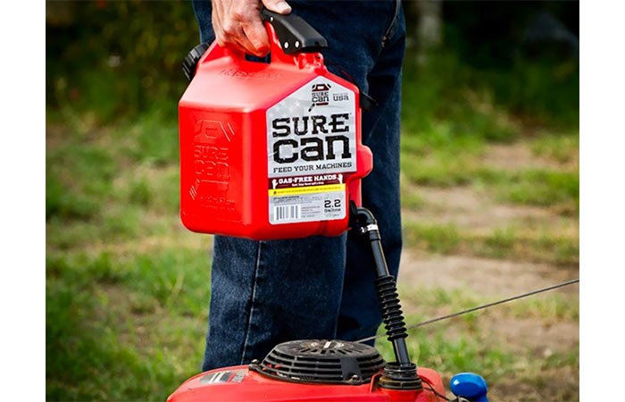 Using the Surecan Gas Can