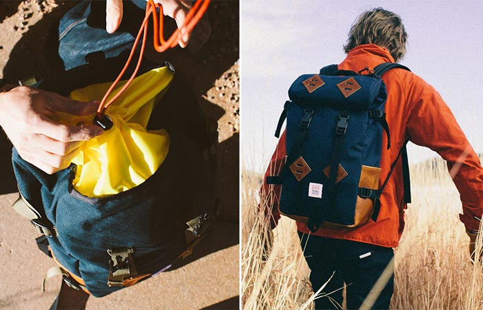 Closure on Topo Designs Klettersack Mountain Pack